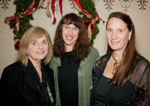 Lois Phillips PhD, Cindy Faith Swain, and Dr. Lynn K. Jones